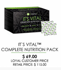 Complete NUtrition pack